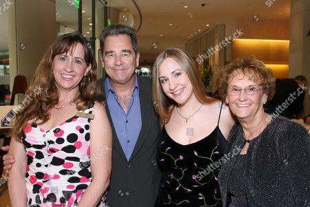 Wendy Bridges, Beau Bridges, Emily Bridges and Donna Theece