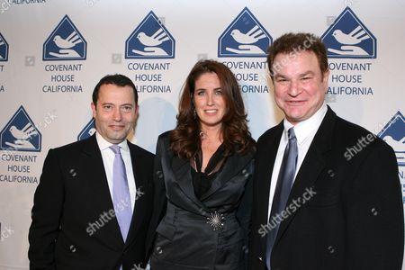 Colin Callendar, Elizabeth Callendar and Robert Wuhl