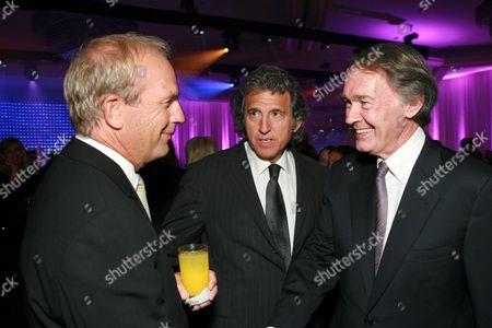 Kevin Costner, Armyan Bernstein & Ed Markie