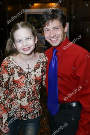 Stock Picture of Daveigh Chase and Jason Marsden