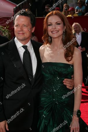 Steven Culp and Marcia Cross