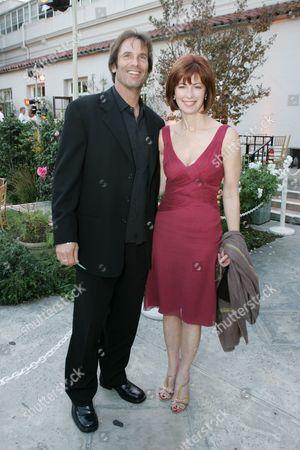 Stock Image of Davey Holmes and Dana Delany