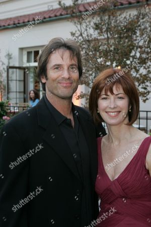 Stock Picture of Davey Holmes and Dana Delany