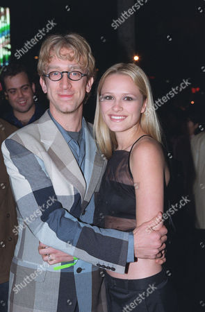 Stock Photo of Andy Dick and Lisa Donatz