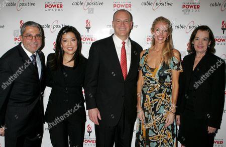 Steve Villano, Andrea Wong, Kyle McSlarrow, Regan Hofmann, Judy