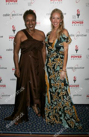 CCH Pounder, Regan Hofmann