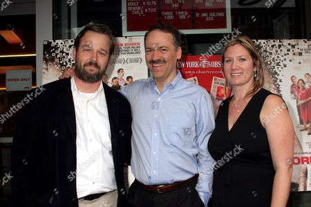 Stock Image of Patrick Creadon, Will Shortz, Christine O'Malley