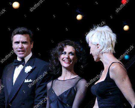 Brent Barrett, Samantha Harris, Amra-Faye Wright