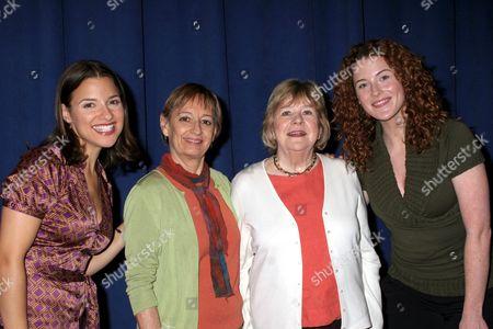 Jenn Gambatese, Patricia Conolly, Marylouise Burke,Bridget Regan