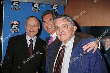 Raymond W Kelly, Ernie Anastos, Gabe Pressman