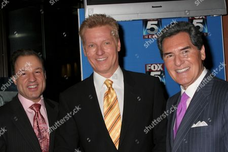 Editorial picture of Fox 5 Celebrates the 40th Anniversary of the 10 PM News