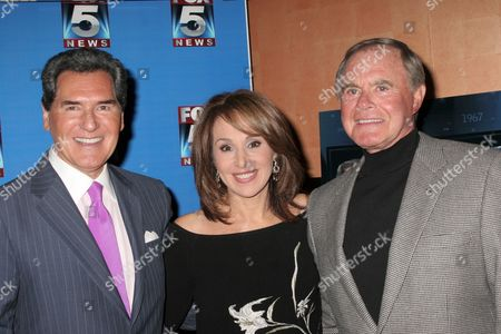 Editorial image of Fox 5 Celebrates the 40th Anniversary of the 10 PM News