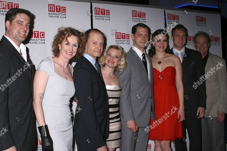 Stock Picture of Curt Bouril, Lisa Barnes, David Hyde Pierce, Mary Catherine Garrison, David Furr, Rosie Benton, John Wernke, Charles Kimbrough
