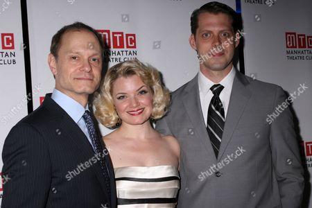 David Hyde Pierce, Mary Catherine Garrison, David Furr