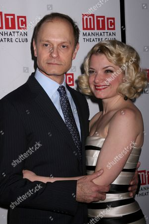 Stock Picture of David Hyde Pierce, Mary Catherine Garrison