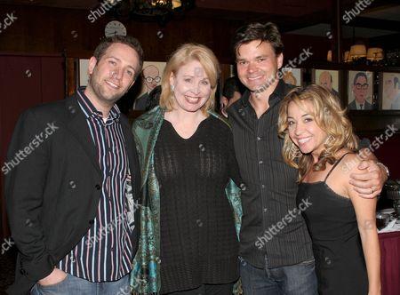 David Rossmer, Nancy Opel, Hunter Foster, Jennifer Cody