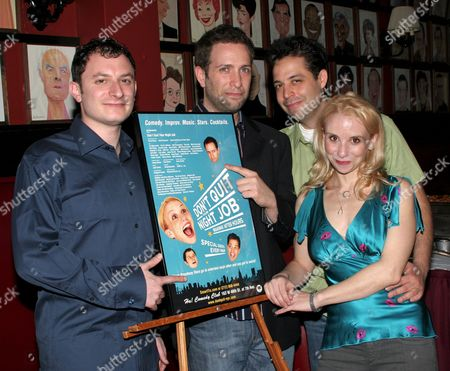 Stock Picture of Dan Lipton, David Rossmer, Steve Rosen, Sarah Saltzberg