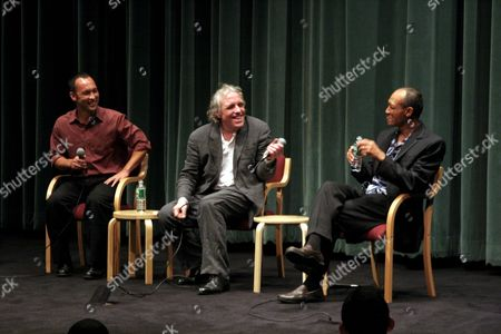Stock Picture of Will McCord, Abel Ferrara, Paul Calderon