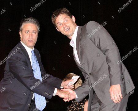 Jon Stewart, David Zinczenko