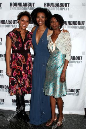 Sharon Washington, Tisola Logan, Linda Powell