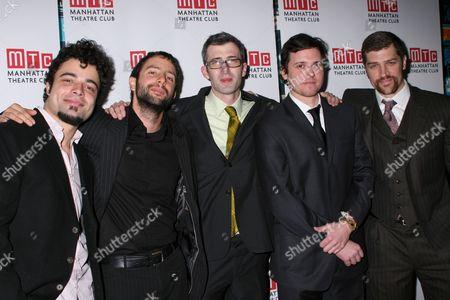 James Martinez, Itamar Moses, Daniel Aukin, Michael Mosley, Jeremy Davidson