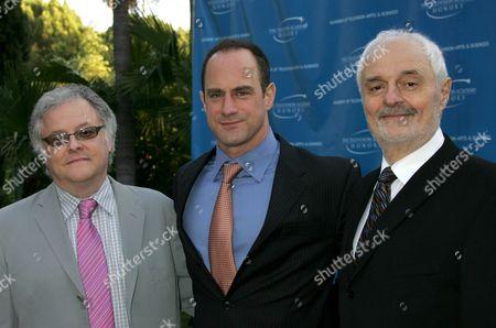 Neal Baer, Christopher Meloni, Ted Kotcheff