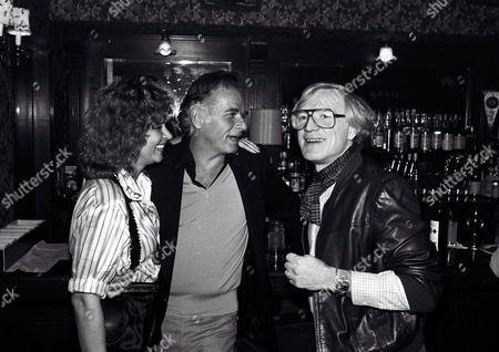 Stock Photo of Corinna Tsopei Fields, Fred Fields and Richard Harris