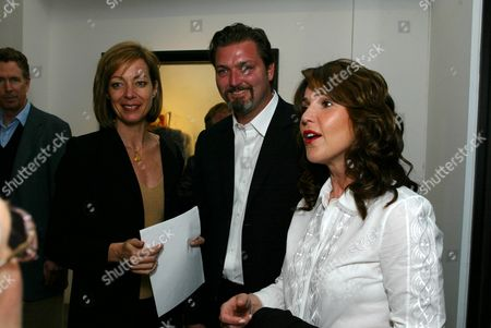 Allison Janney, Christian Vincent and wife Peri Gilpin
