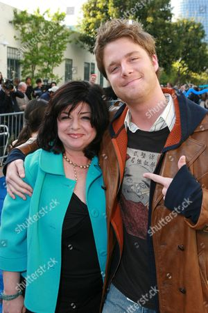 Producer Susan Cartsonis  and Jake McDorman
