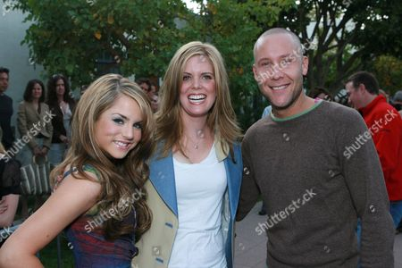 Stock Image of JoJo, Director Elizabeth Allen and Michael Rosenbaum