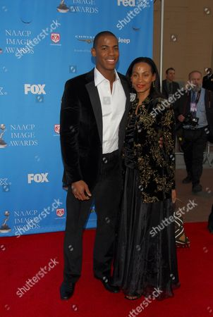 Mechad Brooks and Mother