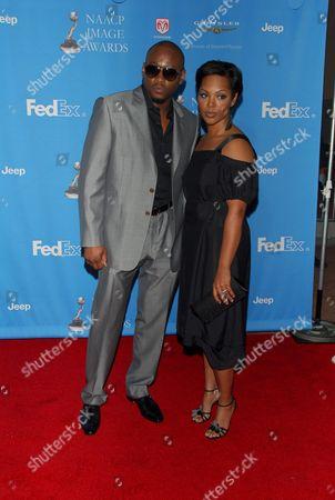 Omar Epps and wife Keisha Spivey