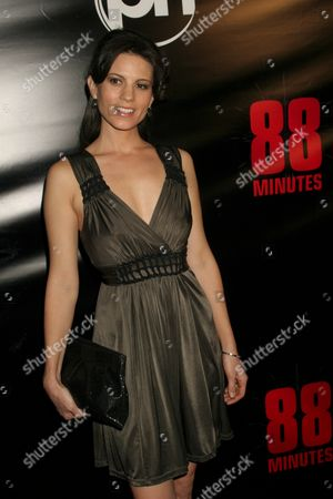 Stock Photo of Leah Cairns