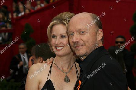 Paul Haggis and Deborah Rennard
