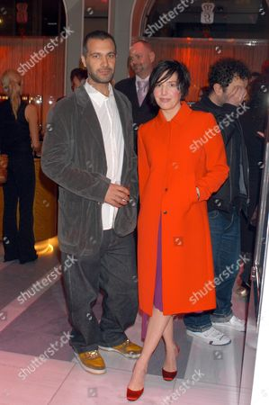 Stock Picture of Hardy Blechman with Sharleen Spiteri