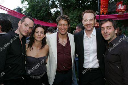 Peter Paige,Michelle Clunie,Robert Gant,Robert Greenblatt, Scott