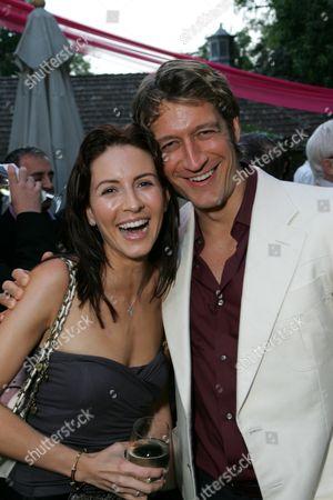 Michelle Clunie and Robert Gant