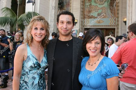 Jodi Benson, Jim Dooley and Peggy Holmes