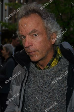 "Spalding Gray arriving to the premiere of Dreamworks' ""Hollywood Ending"" at the Clearview Chelsea West Cinemas in New York City on April 23, 2002.