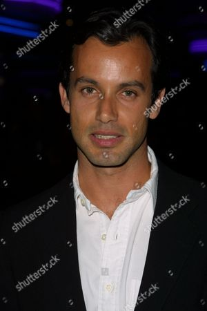 "The film's producer and writer Andrew Lauren (Ralph Lauren's son) at a screening of the film ""G"", as part of the 1st Annual Tribeca Film Festival, at the UA Theatre in Battery Park City, New York City on May 10, 2002.
