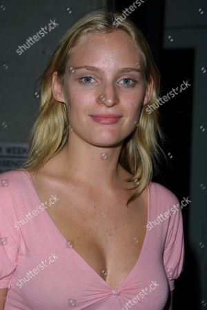"""Fashion model Amy Wesson at Entertainment Weekly's 1st Annual """"It List"""" Party, celebrating the sixth year of the popular """"It List"""" issue, at Milk Studios in New York City on June 24, 2002.  Manhattan, New York  Photo® Matt Baron/BEI"""