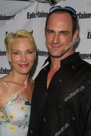 """Christopher Meloni (right) and wife Sherman Williams at Entertainment Weekly's 1st Annual """"It List"""" Party, celebrating the sixth year of the popular """"It List"""" issue, at Milk Studios in New York City on June 24, 2002.  Manhattan, New York  Photo® Matt Baron/BEI"""
