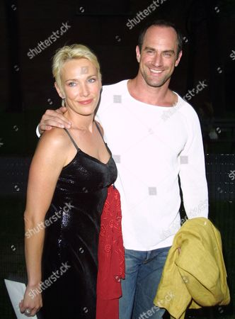 Christopher Meloni (right) and wife Sherman Williams