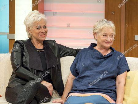Denise Welch and Janine Duvitski