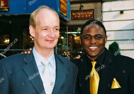 Colin Mochrie and Wayne Brady