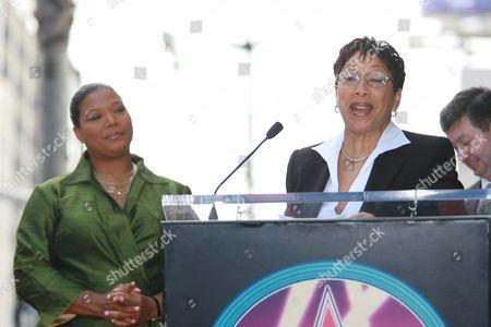 Queen Latifah and mother Rita Owens