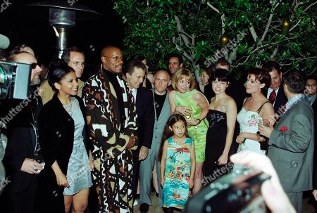 Ira Steven Behr, Executive Producer, STDS9; Penny Johnson Jerald, who played Kasidy Yates; Rick Berman, Executive Producer, STDS9; Avery Brooks, who played Captain Benjamin Sisko; James Darren, who played by Vic Fontaine; Armin Shimerman, who played Quark; Terry Farrell, who played Lt. Cmdr. Jadzia Dax; Alexander Siddig, who played Doctor Julian Bashir; Nana Visitor, who played Major Kira Nerys; Nicole de Boer, who played Lieutenant Ezri Dax; Hana Hatae, who played STDS9; Andrew Robinson, who played Garak; Max Grodénchik, who played Rom; Chase Masterson, who played Leeta; Jeffrey Combs, who played Weyoun - all in STDS9