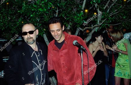 Alexander Siddig, who played Doctor Julian Bashir in Star Trek Deep Space Nine, with Ira Steven Behr, Executive Producer.