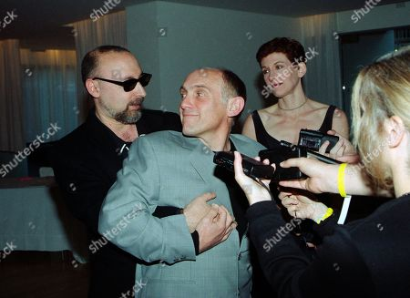 Ira Steven Behr, Executive Producer, STDS9; and Armin Shimerman, who played Quark in Star Trek Deep Space Nine, with guest