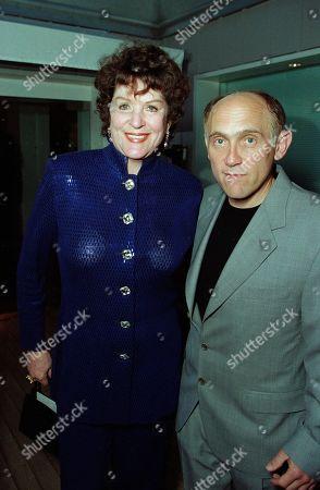 Majel Barrett, who played Lwaxana Troi in Star Trek Deep Space Nine, and was married to Star Trek creator Gene Roddenberry; and Armin Shimerman, who played Quark in Star Trek Deep Space Nine